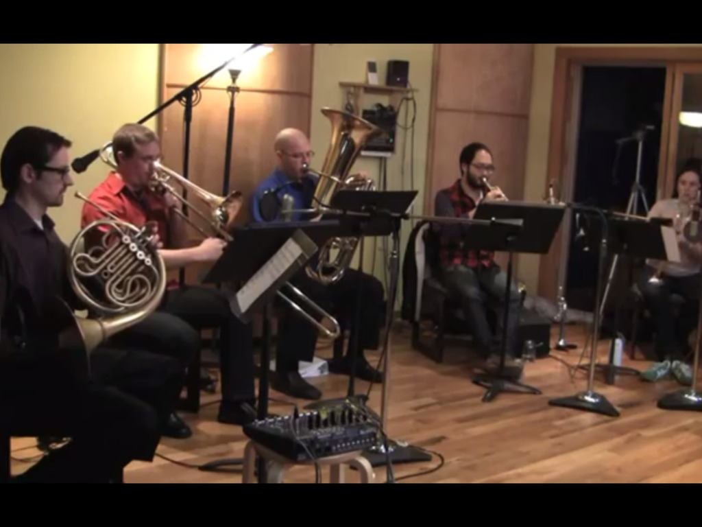 The Copper Street Brass Quintet's new classical CD!'s video poster