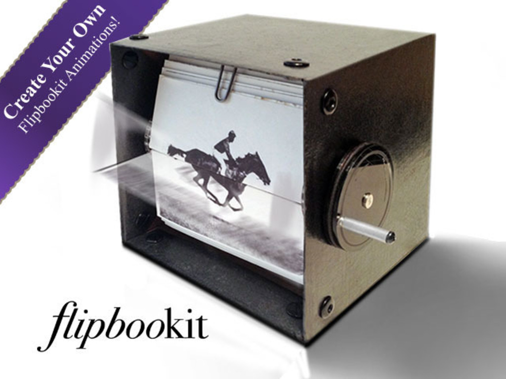 FlipBooKit - Mechanical Flipbook Art and Kit's video poster