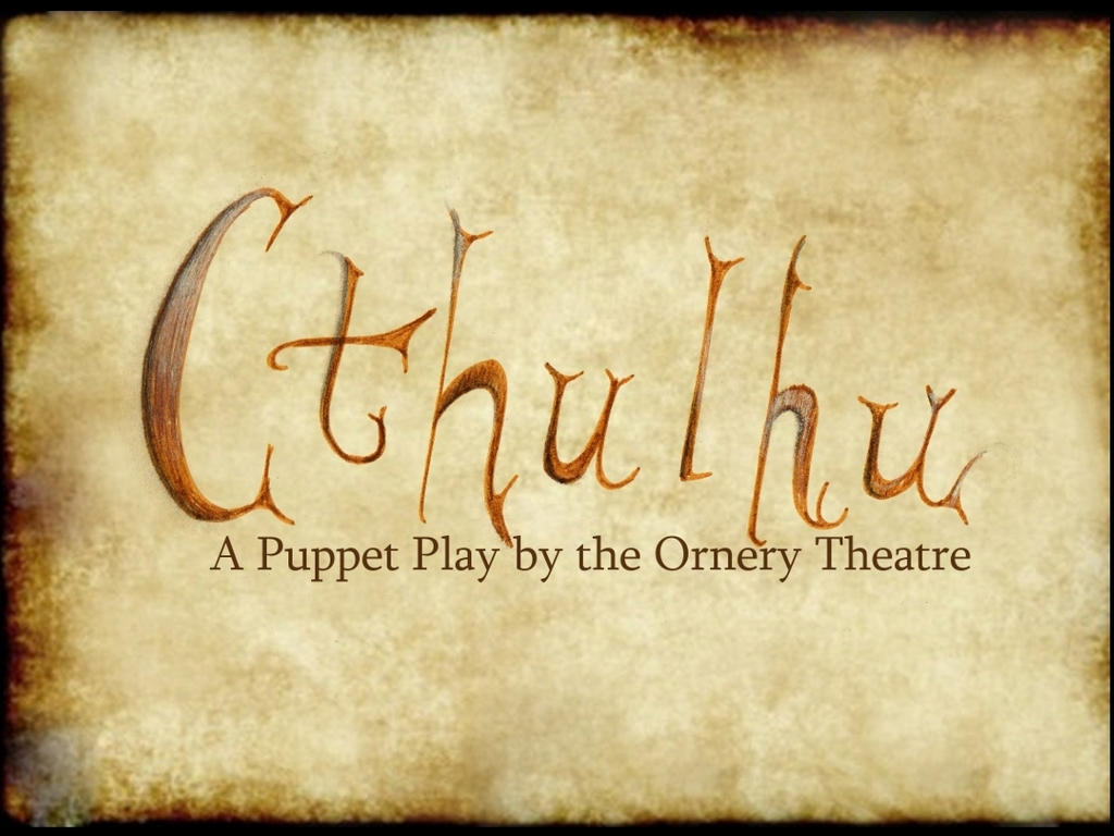 Cthulhu: A Puppet Play's video poster
