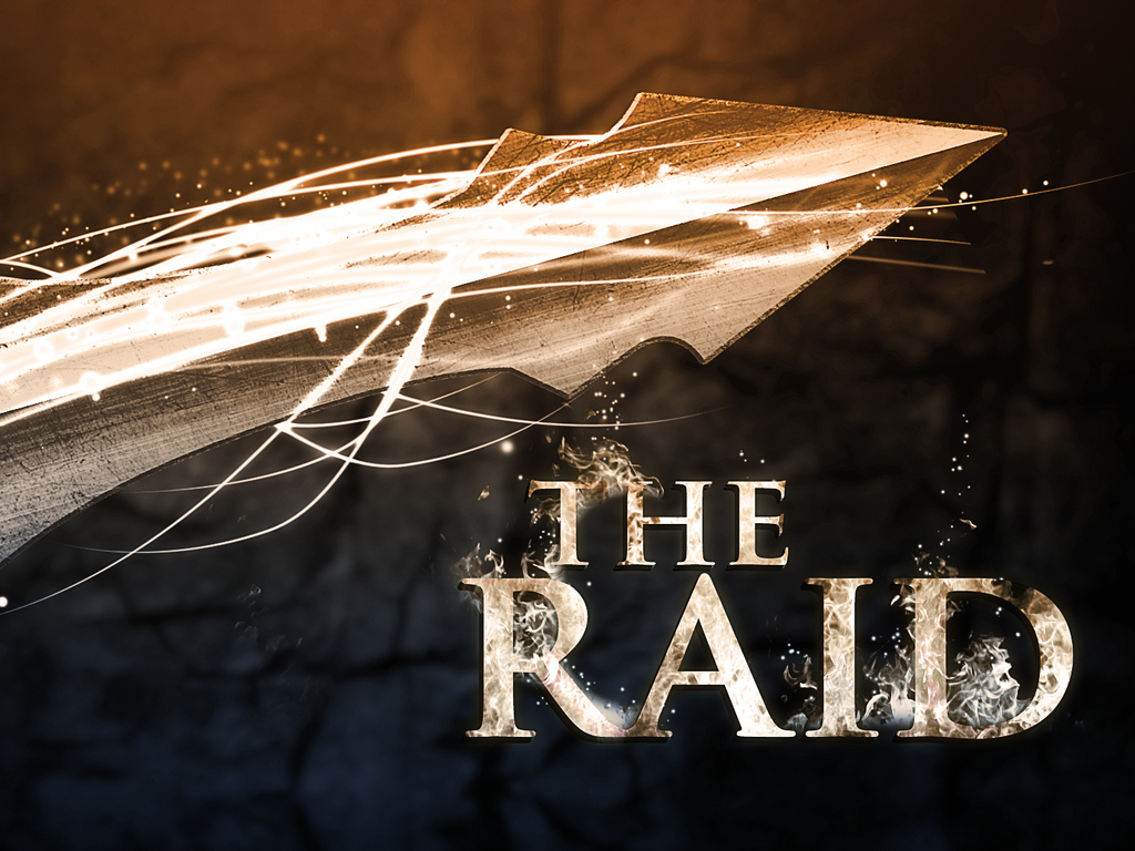 The Raid's video poster
