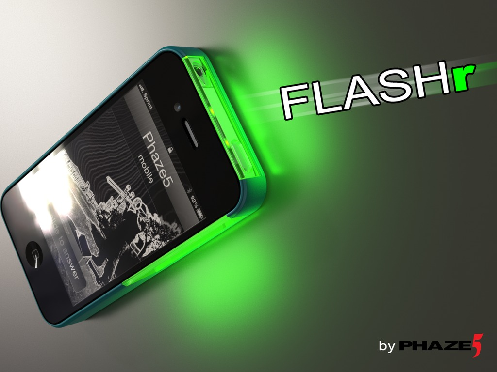 FLASHr: iOS LED Flash Notifications Case for iPhone 4/4s's video poster