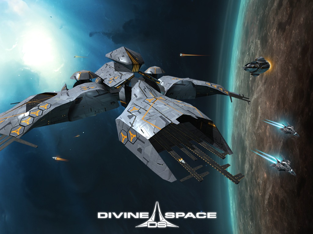 Divine Space, Unique Sci-Fi Action-RPG (Canceled)'s video poster