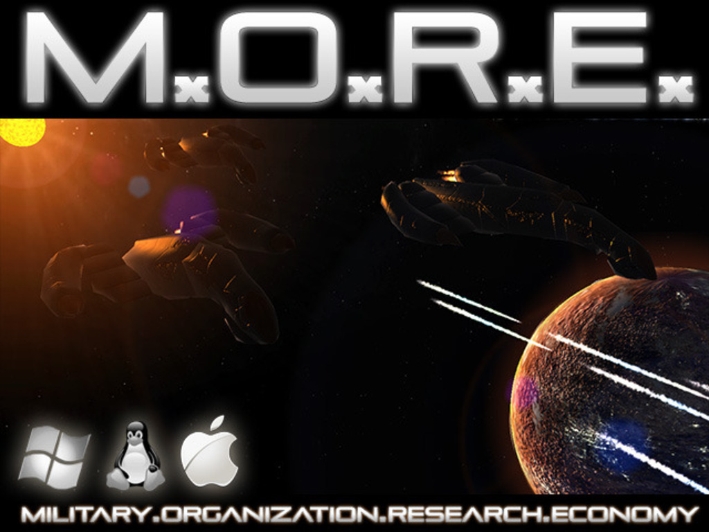 M.O.R.E. - old school turn-based 4X space strategy game.'s video poster