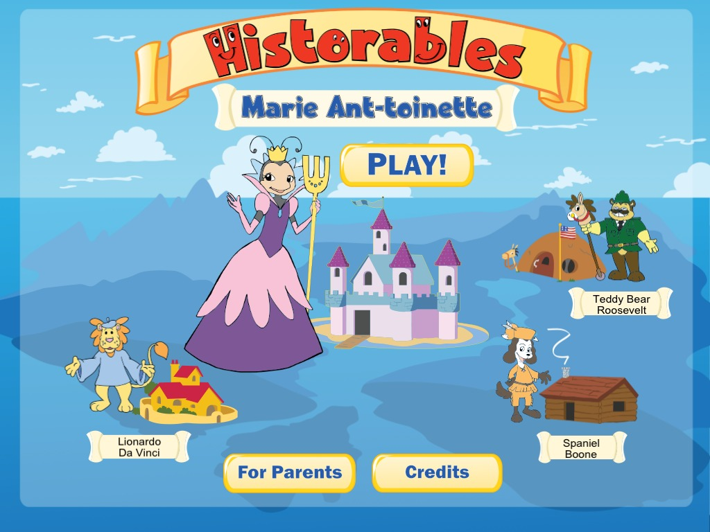 Historables: Marie Ant-toinette  -- App for iPad & Android's video poster