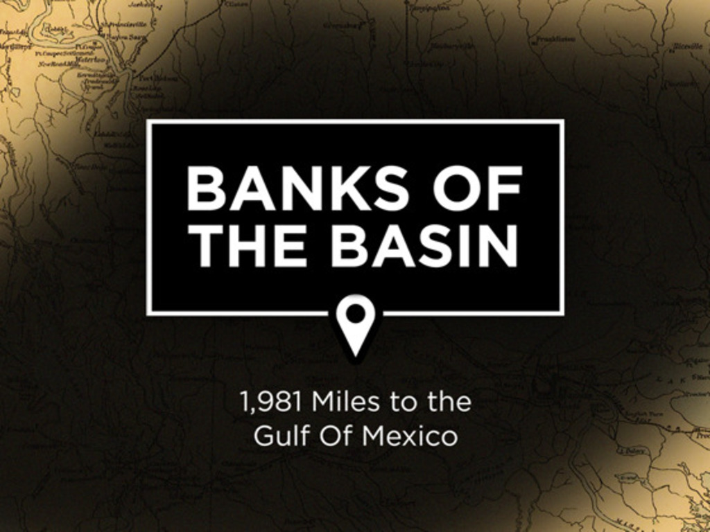 Banks of the Basin: 1,981 Miles to the Gulf Of Mexico's video poster