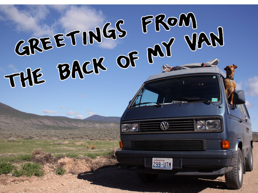 Greetings from the Back of My Van's video poster