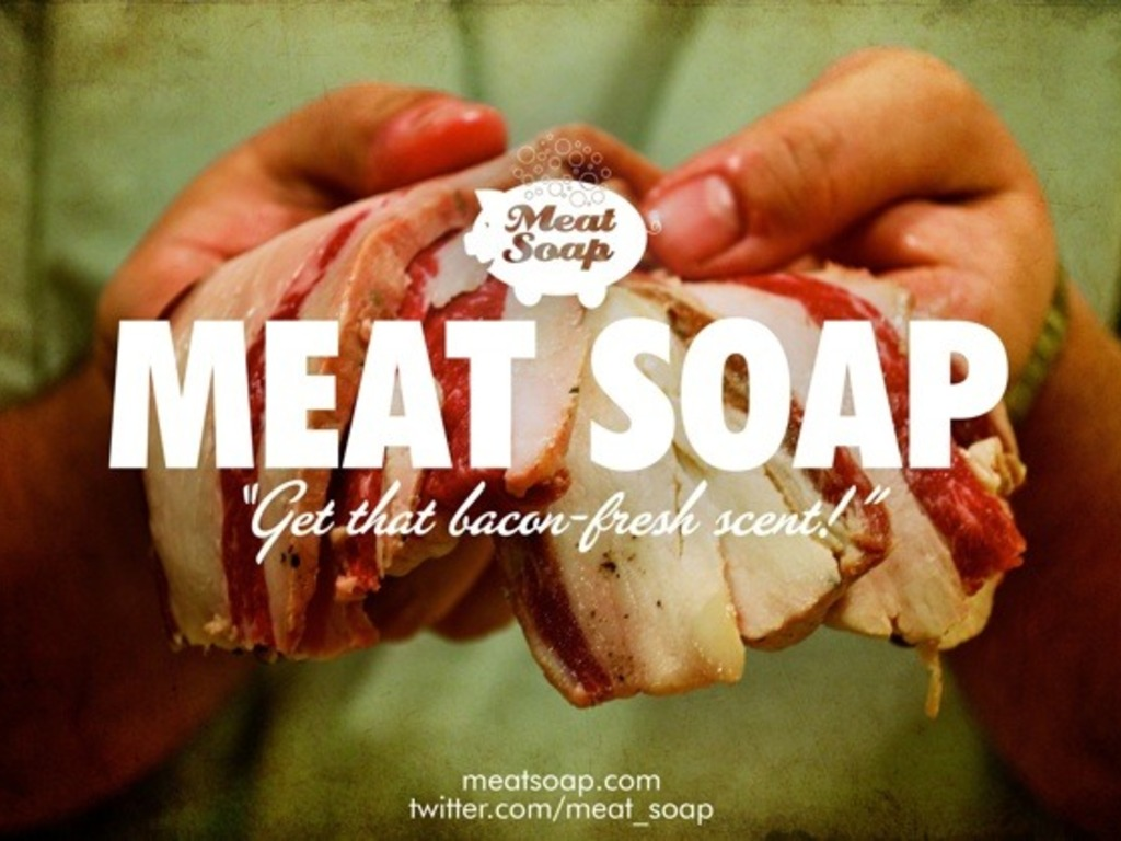 Meat Soap - Get That Bacon-Fresh Scent!'s video poster