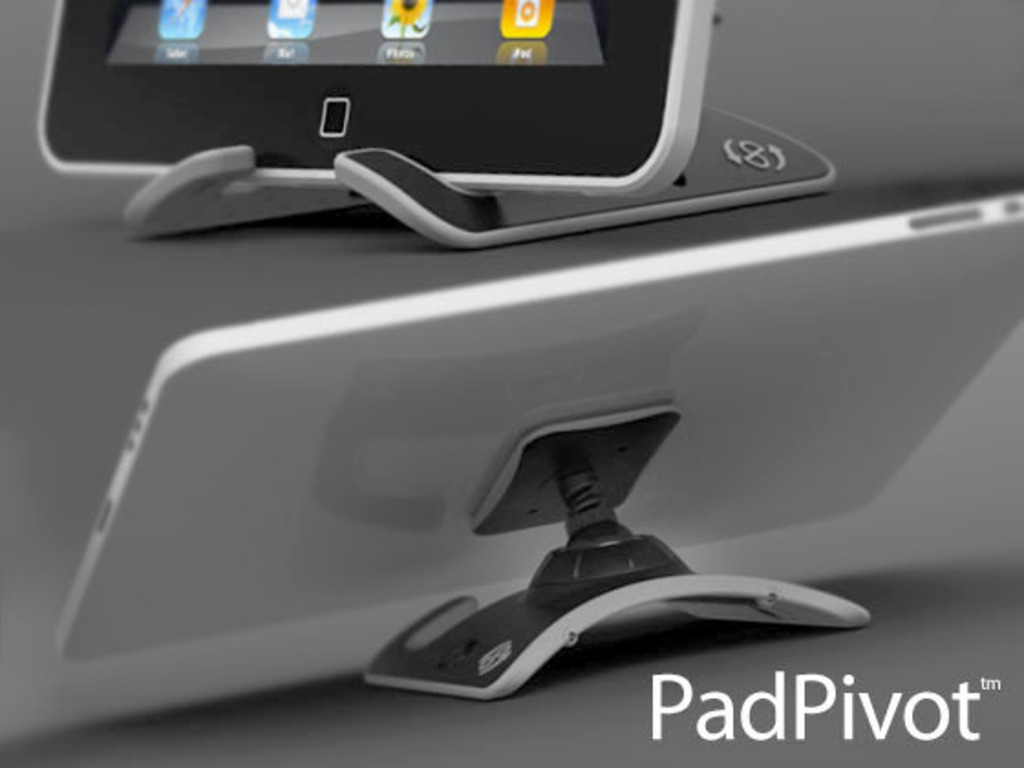 PadPivot, lap & desk stand for your iPad,Tablet, or E-reader's video poster