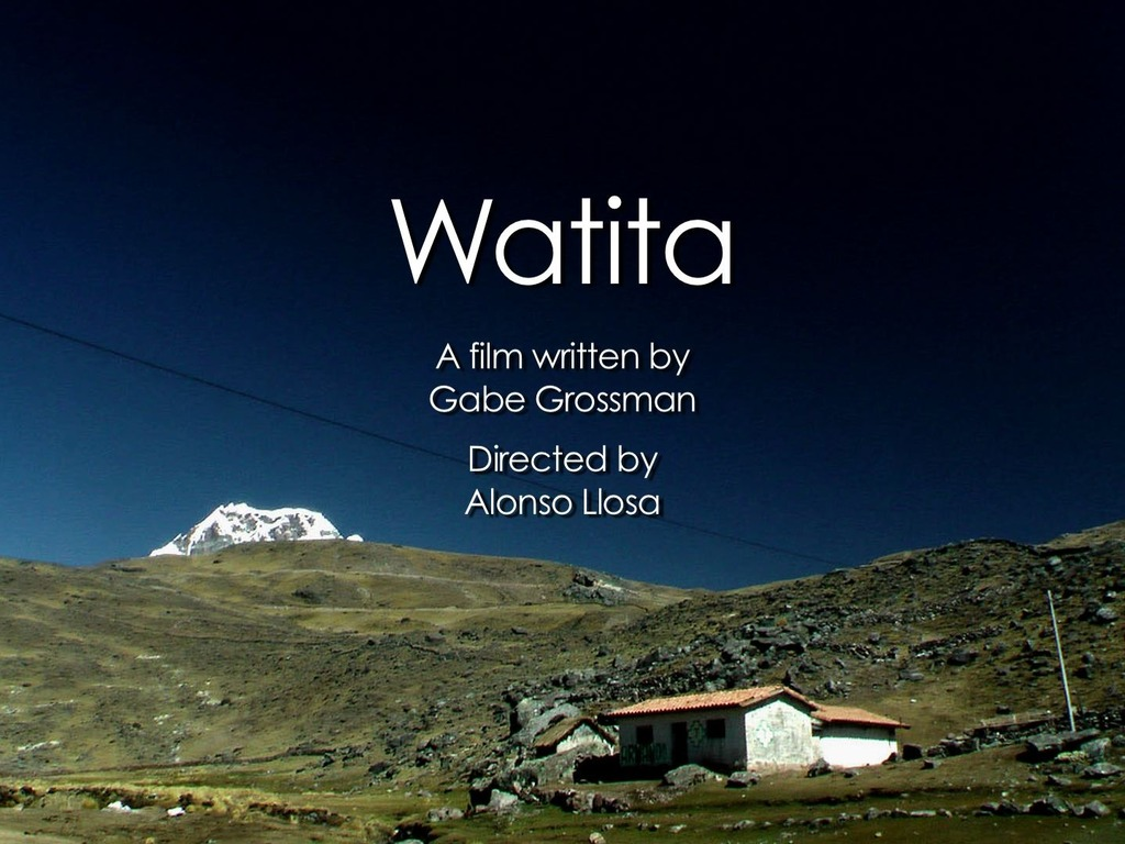 WATITA, a Western in the Andes of Peru's video poster
