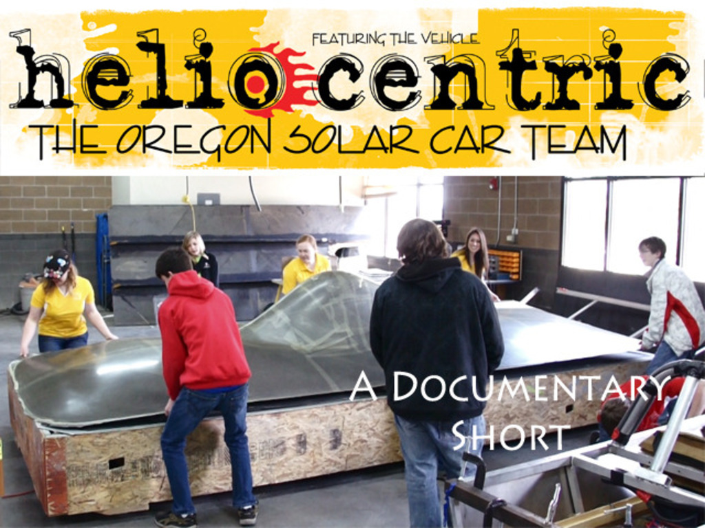 High School Solar Car Documentary - Heliocentric's video poster