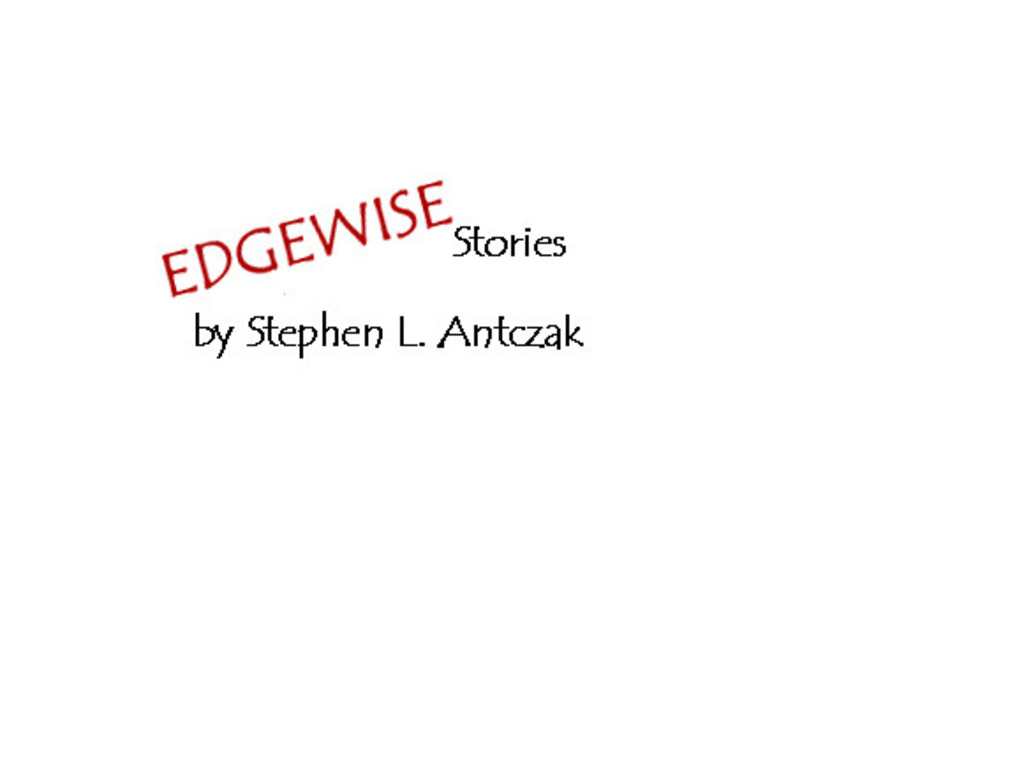 Edgewise - A Collection of Dark & Disturbing Stories's video poster