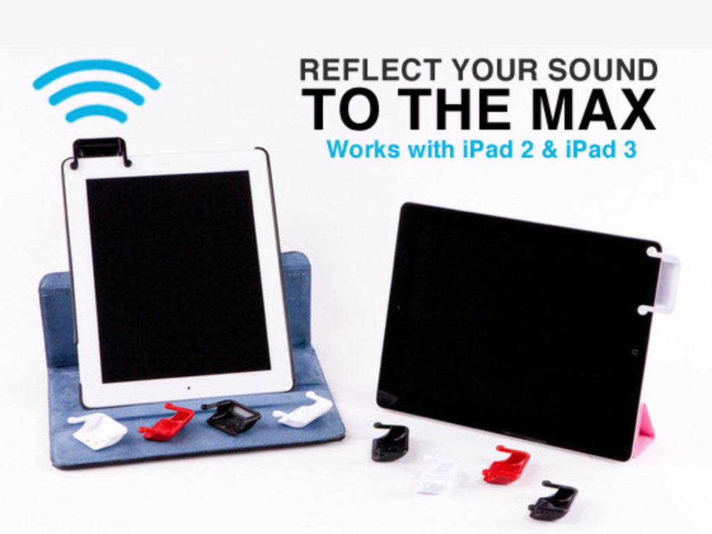 SoundBender™ Magnetic Power-free Amplifier for iPad® 2&3!'s video poster