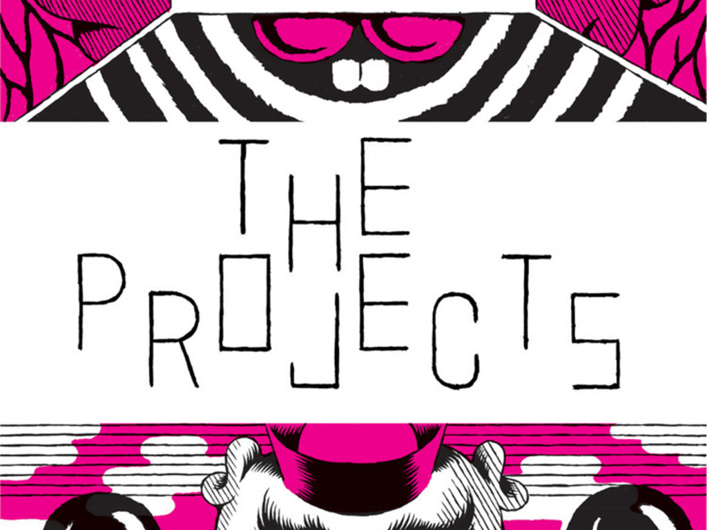 THE PROJECTS: experimental art + comics festival in Portland's video poster