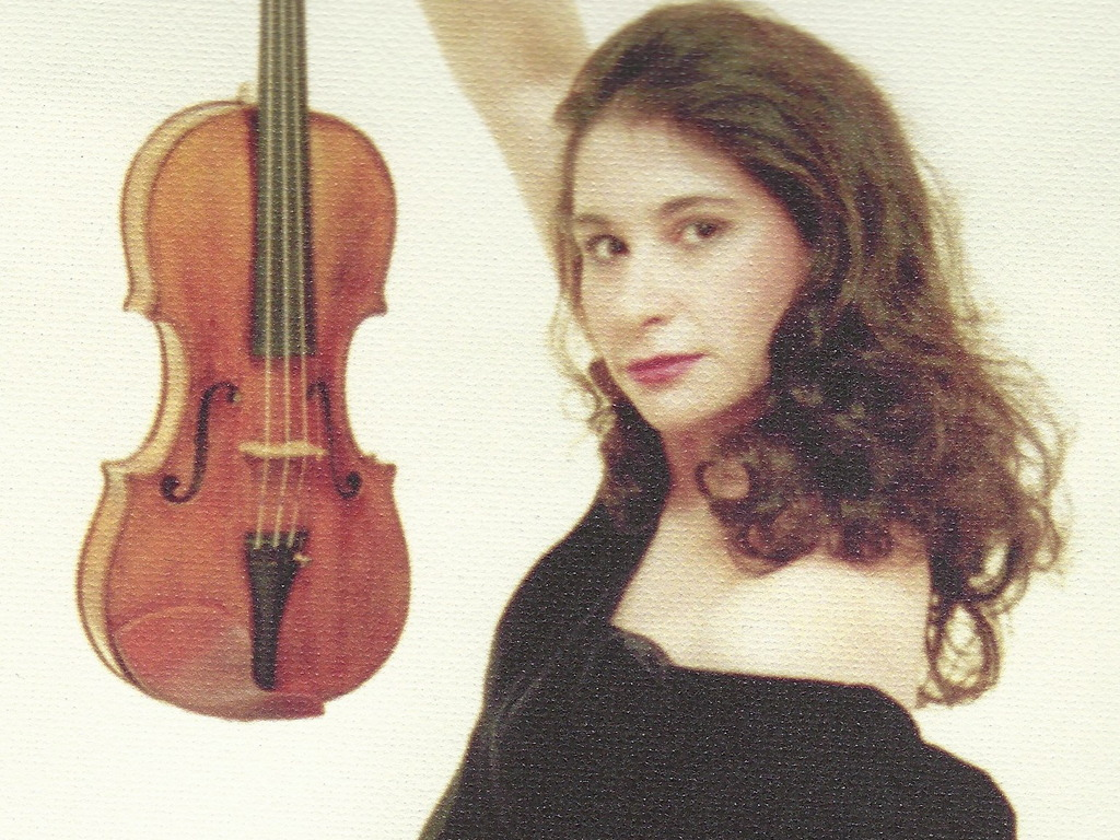 Song Contest & Romantic Jazz CD by Violin/Vocals Diane Perry's video poster