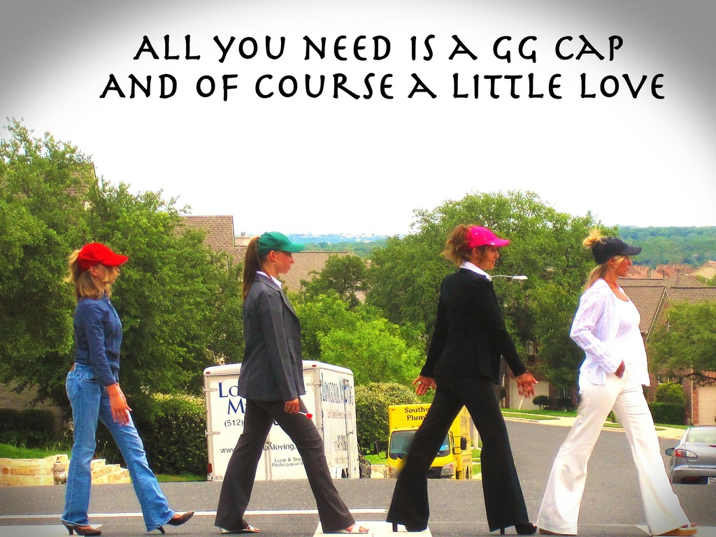Introducing GG Caps - Ponytail caps for Girls on the Go!'s video poster