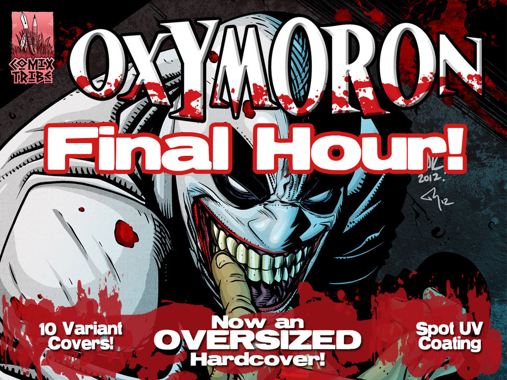 OXYMORON Hardcover Graphic Novel's video poster