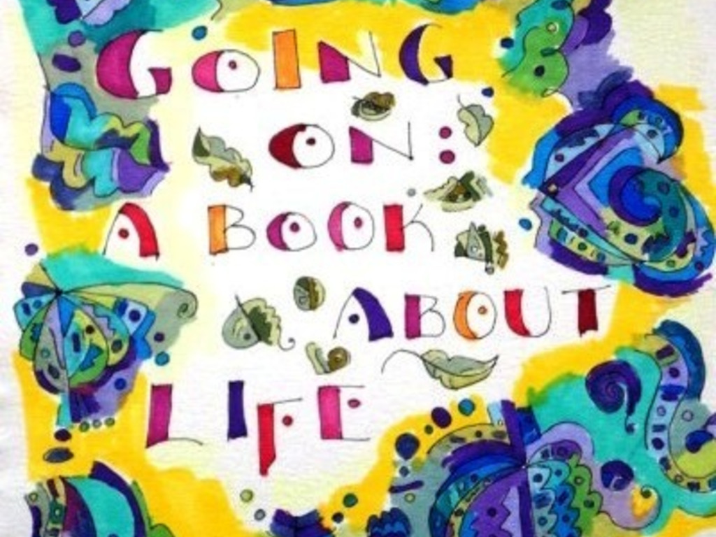 Going On- A Book About Life's video poster