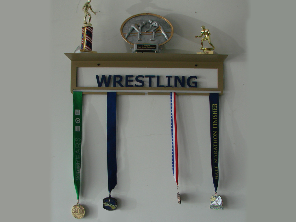 Metal Medal Hangers with a Shelf's video poster
