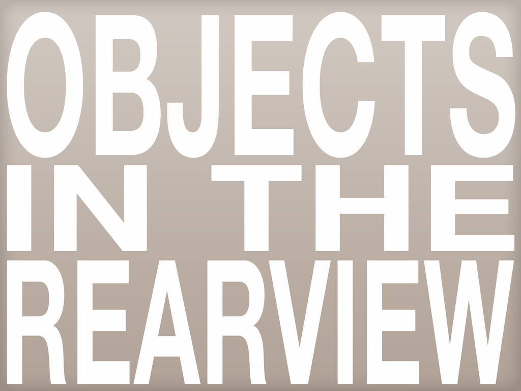 Objects in the Rearview: A Short Film's video poster