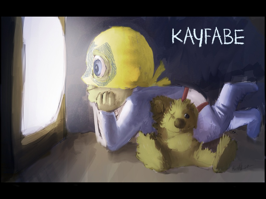 """""""Kayfabe"""" - A CG Animated Short Film's video poster"""