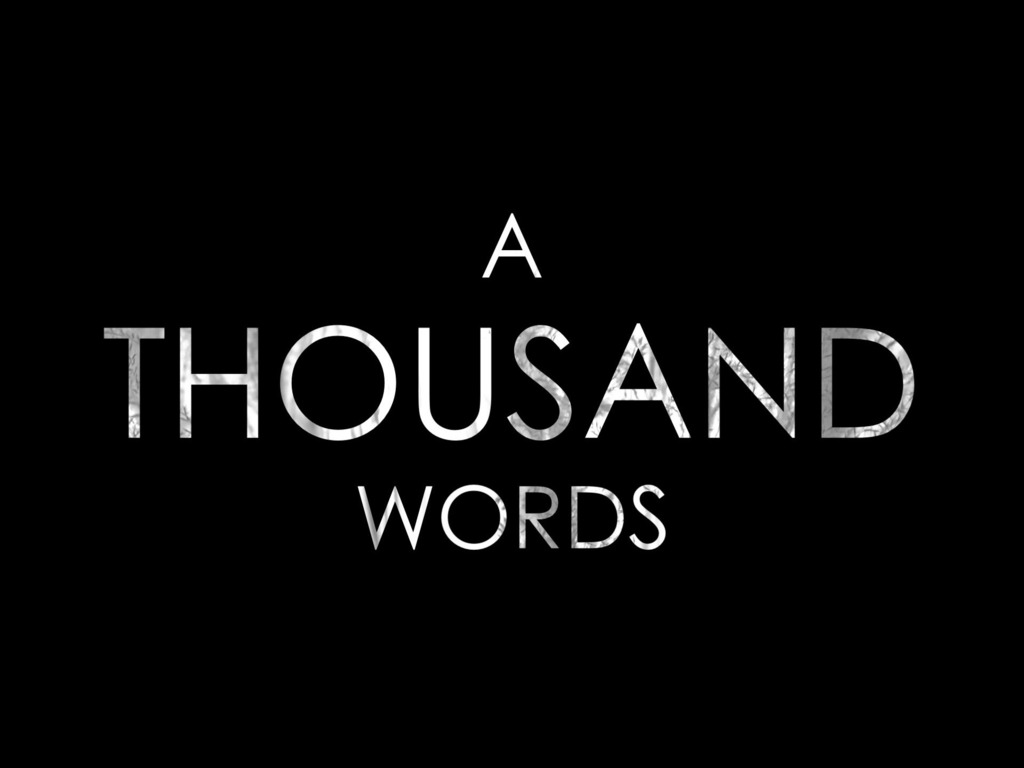"""""""A Thousand Words"""" - A documentary about art and autism's video poster"""