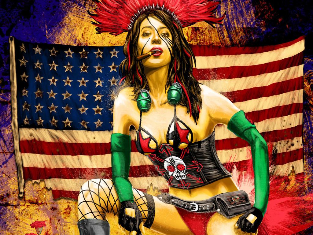 Zero Libertad Comic: Latina, female, supernatural hero's video poster