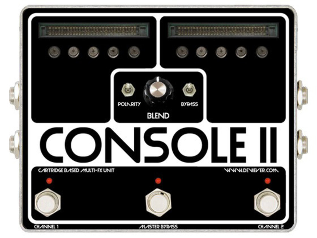 CONSOLE open source cartridge based fx platform for guitar's video poster