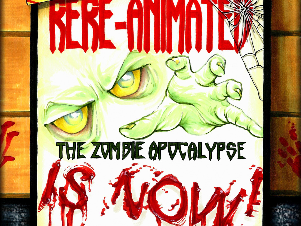 """ReRe-Animated """"the zombie movie""""'s video poster"""