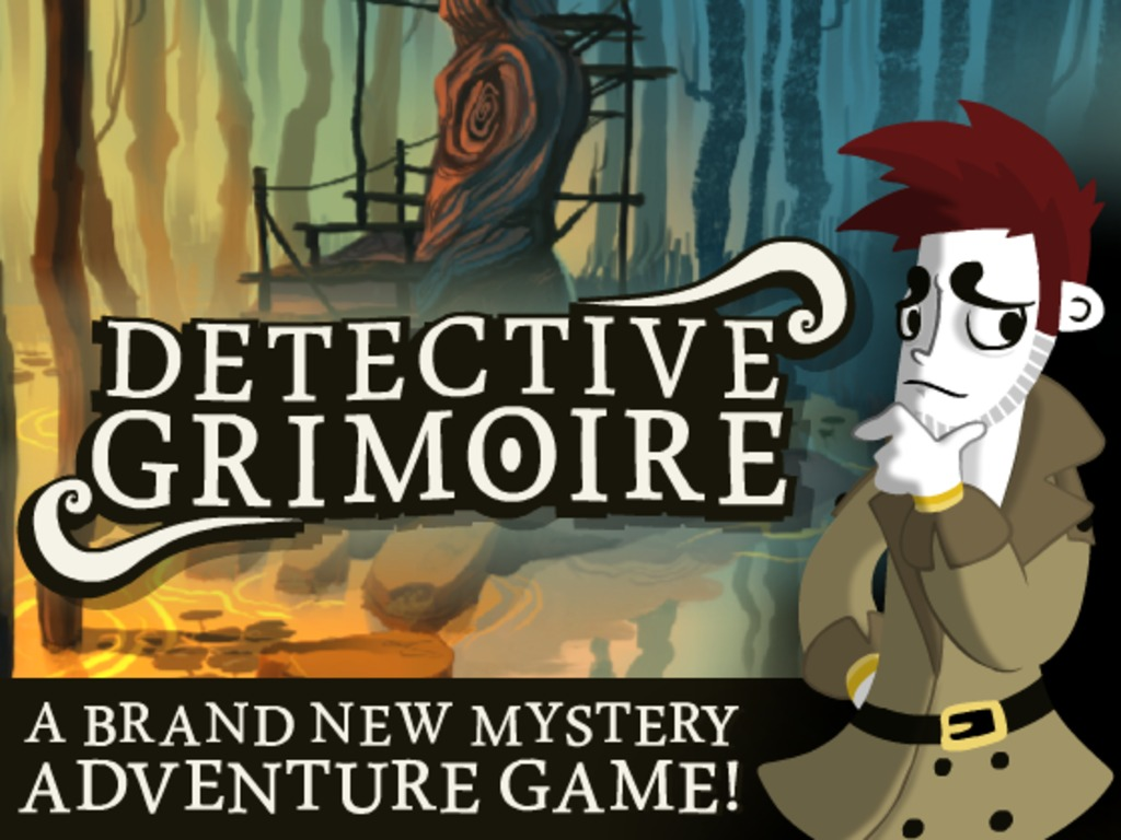 Detective Grimoire: Adventure Game Win/Mac/Linux/iOS/Android's video poster