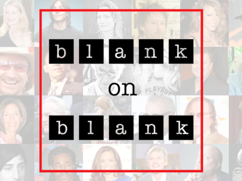 Blank on Blank: 30 Days, 30 Lost Interviews's video poster