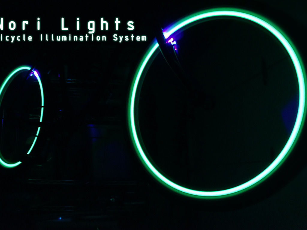Nori Lights - Bicycle Illumination System's video poster