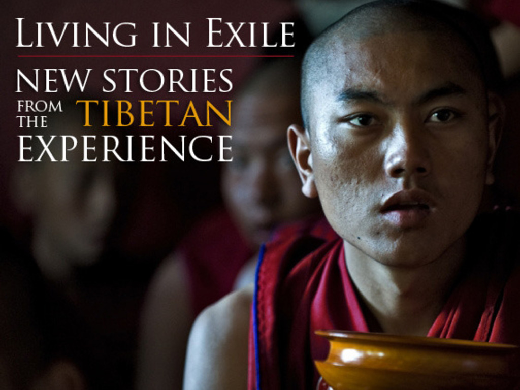Living in Exile: New Stories from the Tibetan Experience's video poster