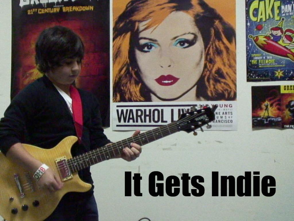 It Gets Indie - Benefit Concert's video poster