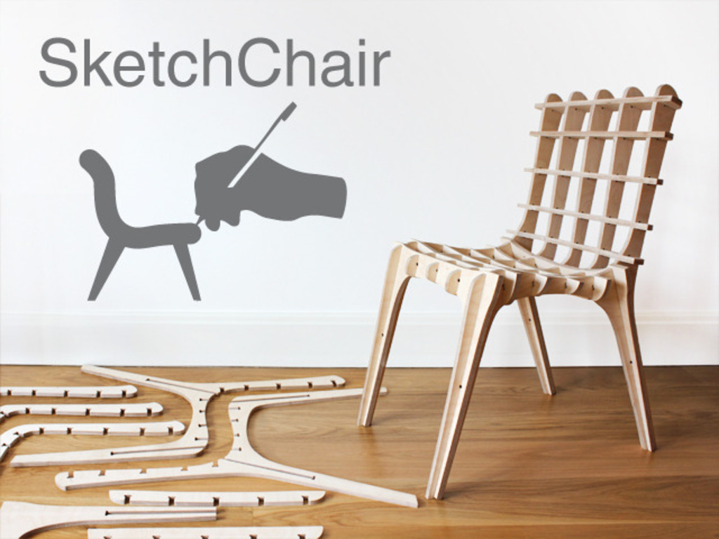SketchChair: Furniture Designed by You's video poster