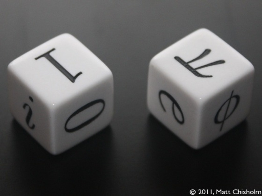 Mathematician's Dice's video poster