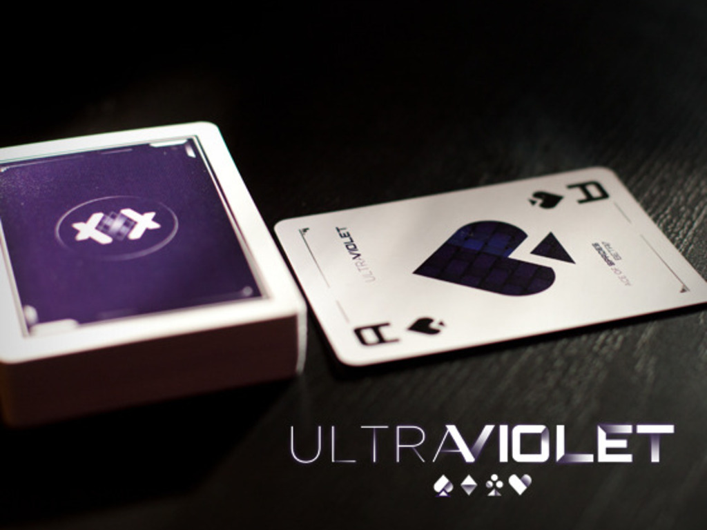 ULTRAVIOLET // Playing cards from beta17's video poster