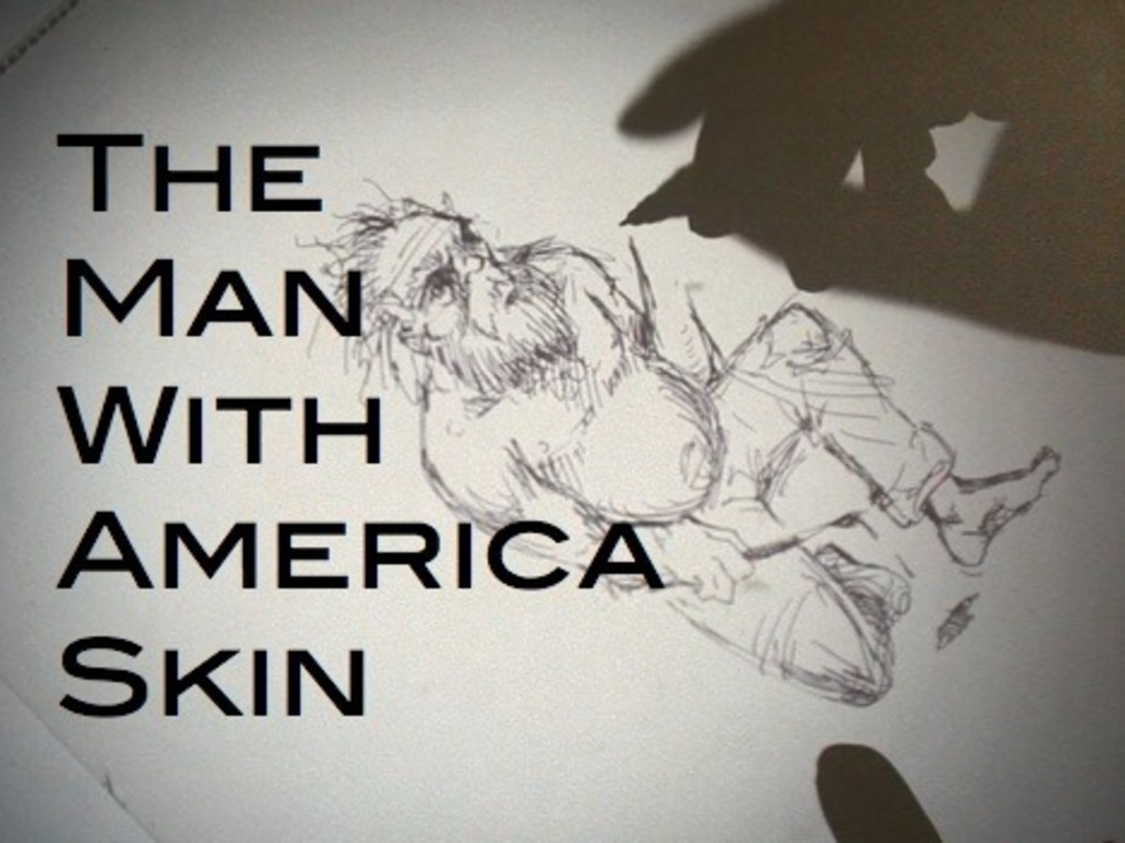 "Off-Broadway Production of ""The Man With America Skin""'s video poster"