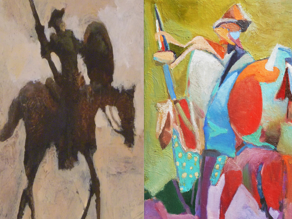 Don Quixote: 91 Paintings In 91 Days!'s video poster