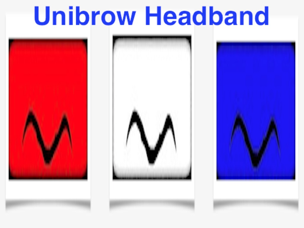 Unibrow Headband - Look and play like Anthony Davis's video poster