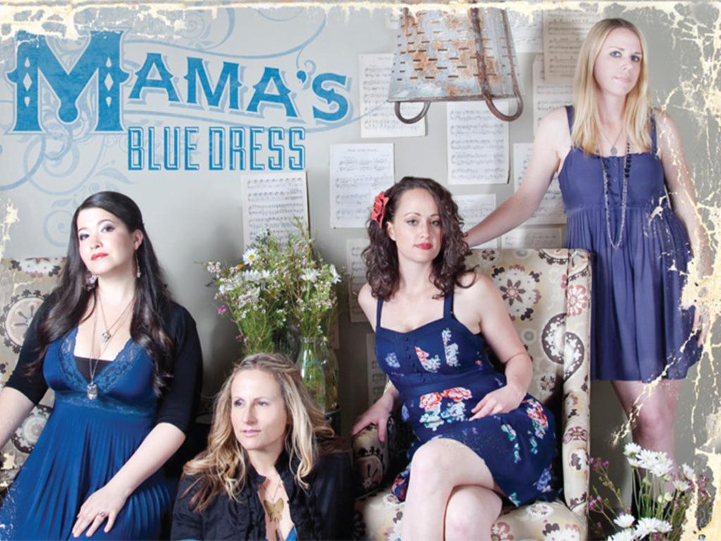 Mama's Blue Kickstarter - Mama's Blue Dress' First CD!'s video poster