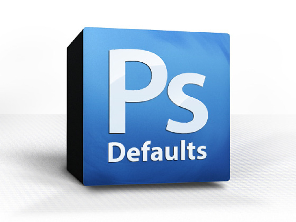 PsDefaults: Better Presets for Adobe Photoshop's video poster