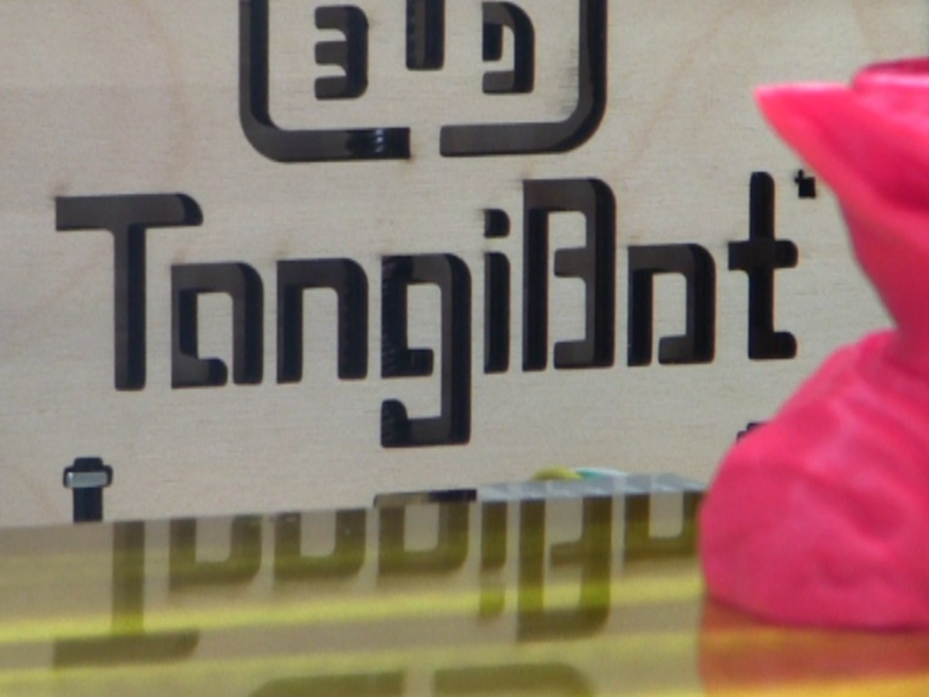 The TangiBot - the affordable Open Source 3D Printer's video poster