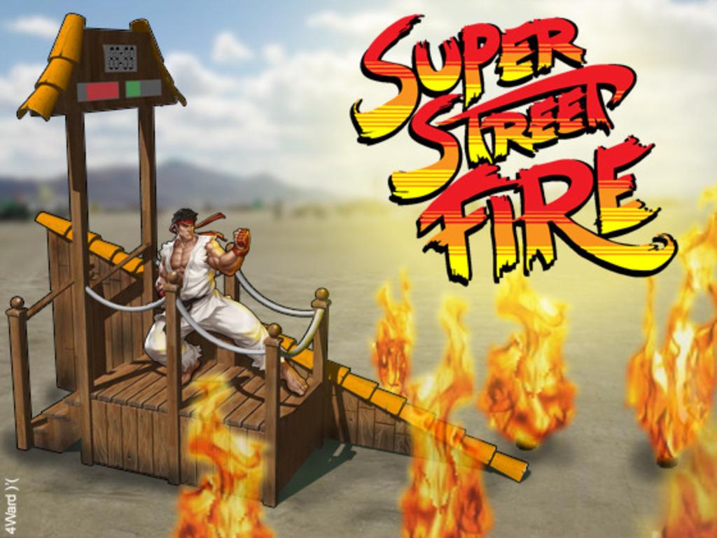 Super Street Fire - Burning Man 2012's video poster