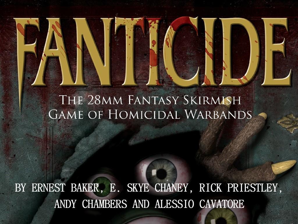 Fanticide, a Tabletop Fantasy Skirmish Game's video poster