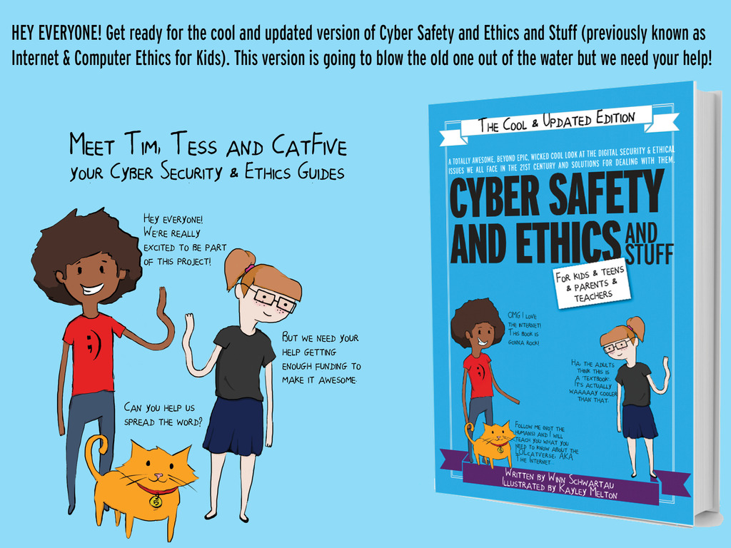Cyber Safety & Ethics & Stuff for Kids, Parents & Teachers's video poster