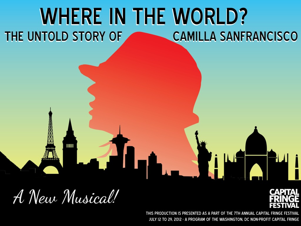 Where in the World? The Untold Story of Camilla Sanfrancisco's video poster