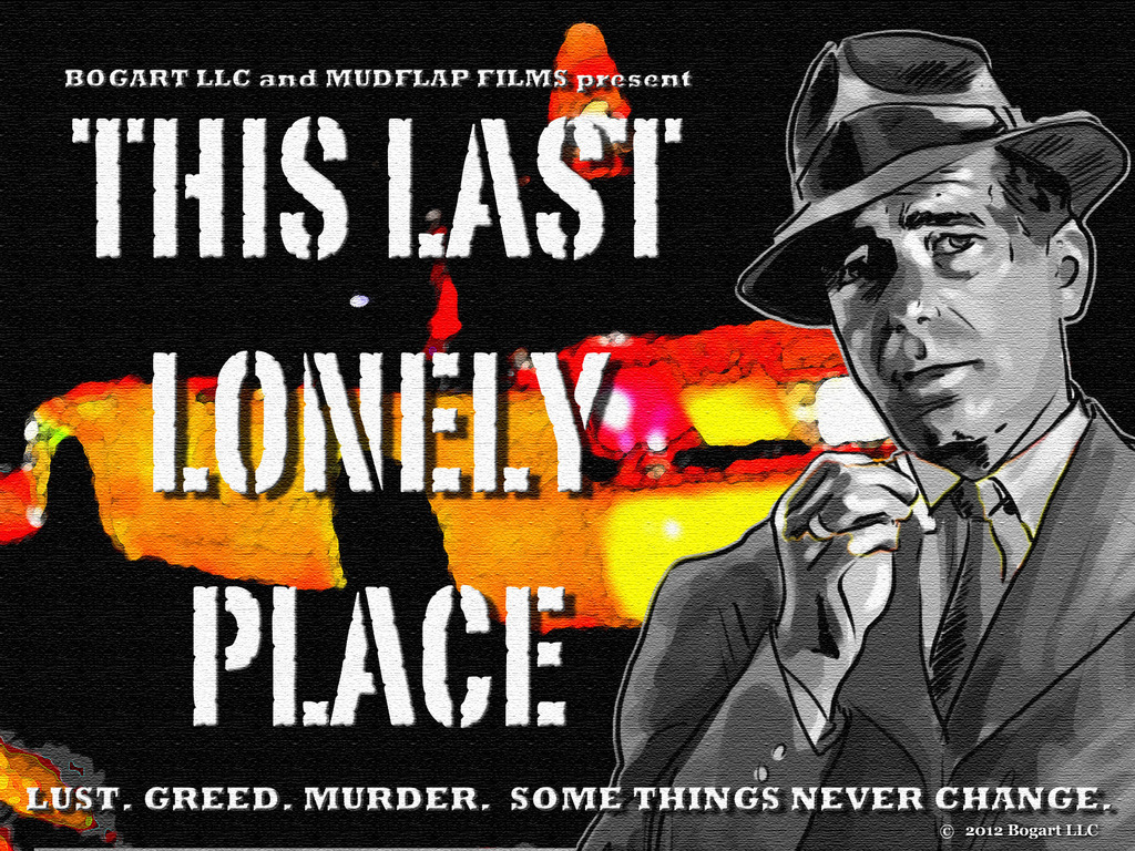 This Last Lonely Place - a feature film's video poster