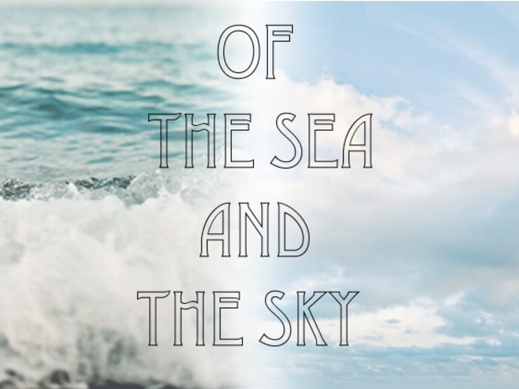 Of the Sea and the Sky - A Handmade Book of Poetry's video poster