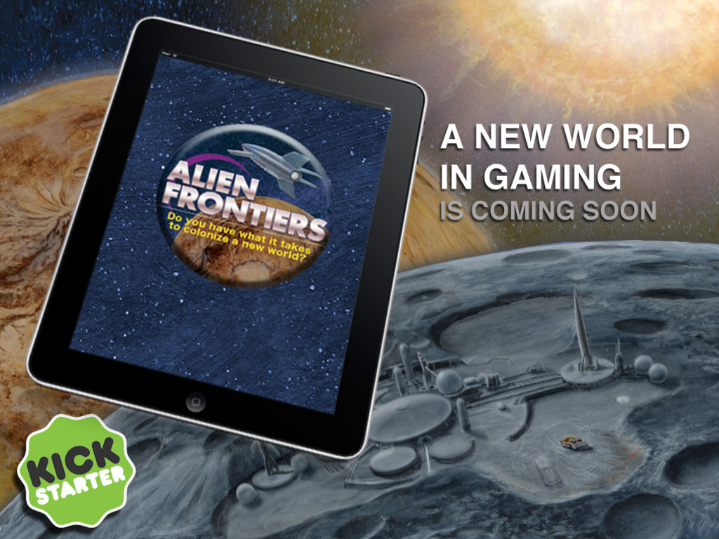 Alien Frontiers for iPad's video poster