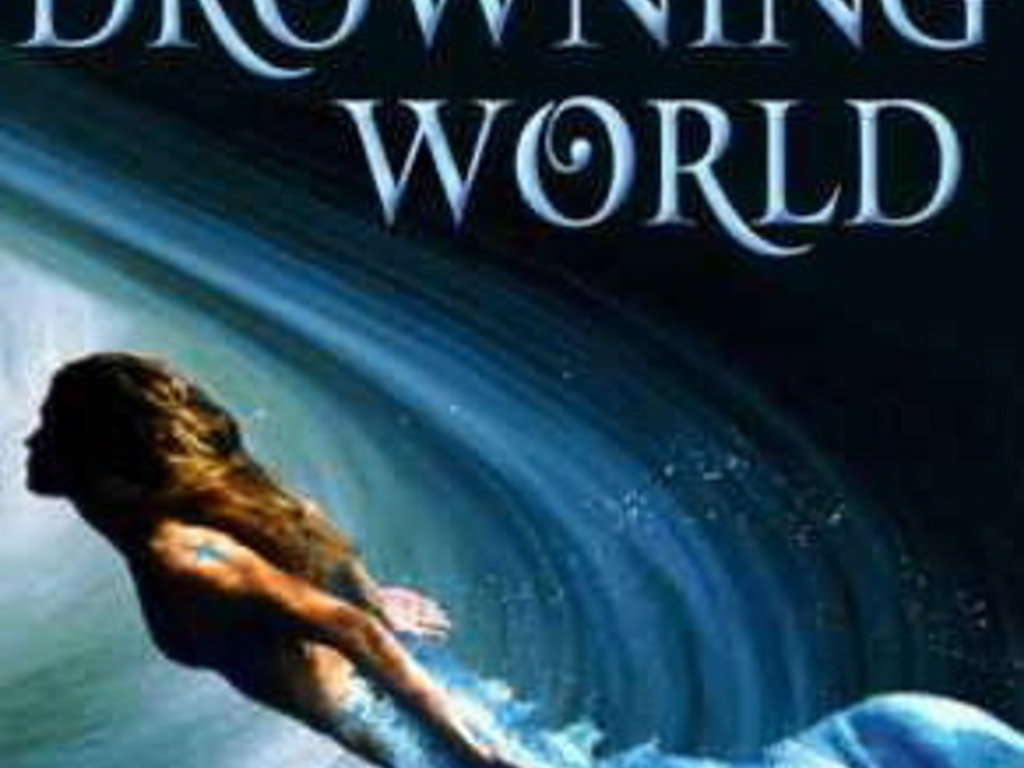 Dive into the future in a sci-fi fantasy THE DROWNING WORLD's video poster